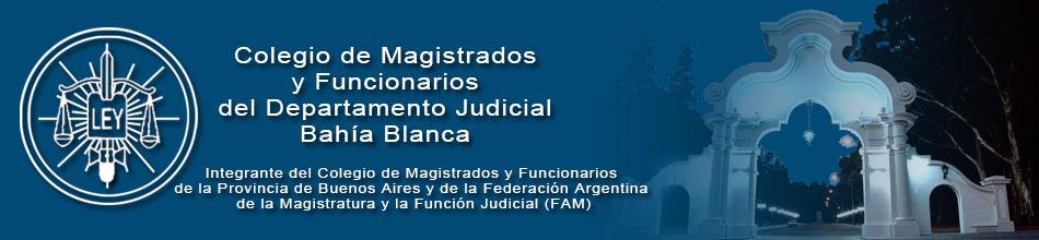 Colegio de Magistrados y Funcionarios Publicos de Bahia Blanca